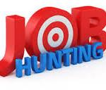 scritta Job Hunting