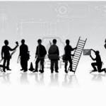 persone che rappresentano diversi mestieri